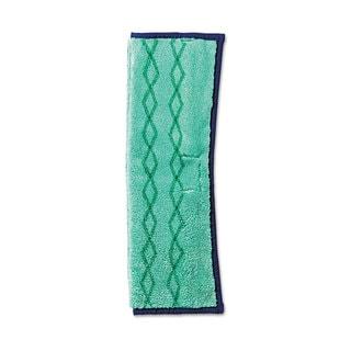 Rubbermaid Commercial HYGEN Microfiber Green/Blue Dust and Wet Mop Plus