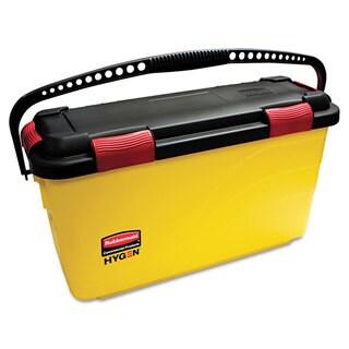 Rubbermaid Commercial HYGEN Yellow Charging Bucket