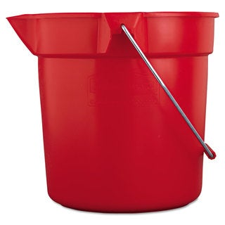 Rubbermaid Commercial Red BRUTE Round Utility Pail