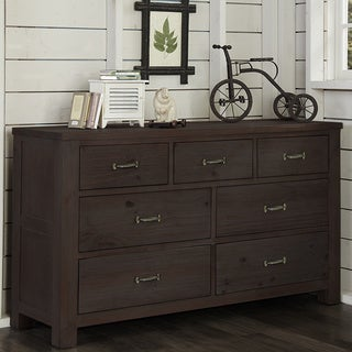 Highlands Collection Espresso 7-drawer Dresser