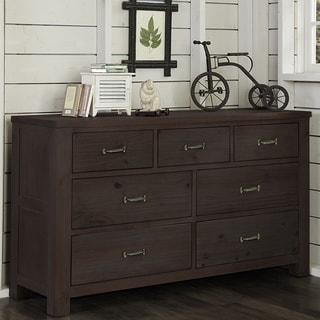 Highlands Collection Espresso 7-drawer Dresser
