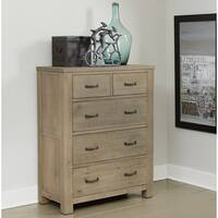 NE Kids Highlands Driftwood Wood 5-drawer Chest