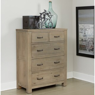 NE Kids Highlands Driftwood 5-drawer Chest