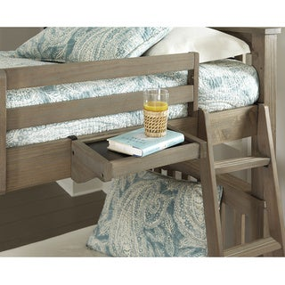 NE Kids Highlands Collection Hanging Tray Driftwood