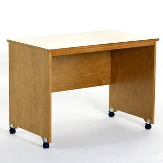 NE Kids School House Collection Mobile Desk Pecan