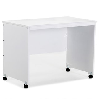 School House White Mobile Desk