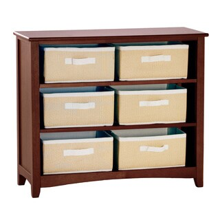 School House Short Vertical Bookcase Cherry