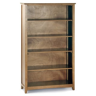 NE Kids School House Tall Vertical Bookcase Pecan