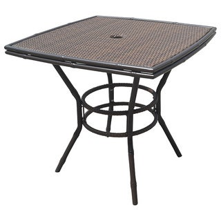 Panama Jack Rum Cay 32 Inch Square Bistro Table