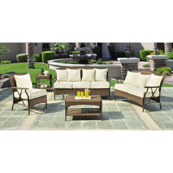 Panama Jack Rum Cay 5 Piece Seating Set Free Shipping Today 10665456