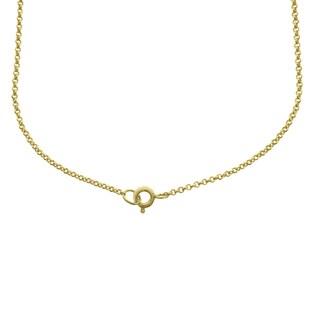 Dolce Giavonna Goldtone Sterling Silver Gemstone Birthstone Cross Necklace