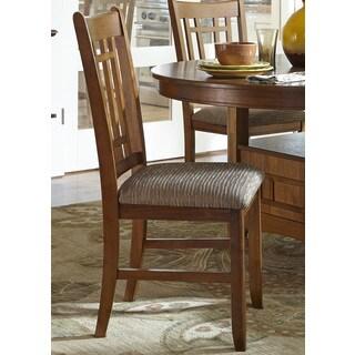 Santa Rosa Oak Mission Upholstered Dining Chair