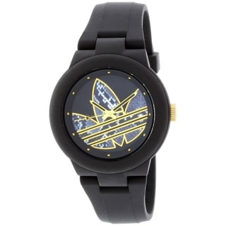Adidas Women's ADH3047 Black Silicone Quartz Watch