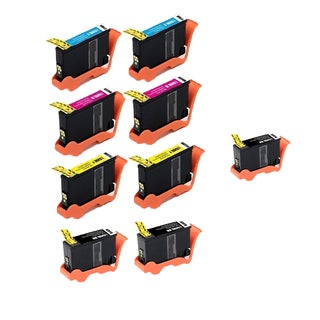 9 Pack Lexmark 3 x 150XL BK + 2 x CMY Compatible Ink Cartridge For Lexmark Pro715 ink Pro715 Lexmark Pro915 ( Pack of 9 )
