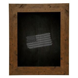 American Made Rayne Rustic Light Walnut Blackboard/ Chalkboard