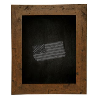 American Made Rayne Rustic Light Walnut Blackboard/ Chalkboard