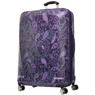 Ricardo Beverly Hills Mar Vista Purple Paisley 29-inch Hardside Spinner Upright