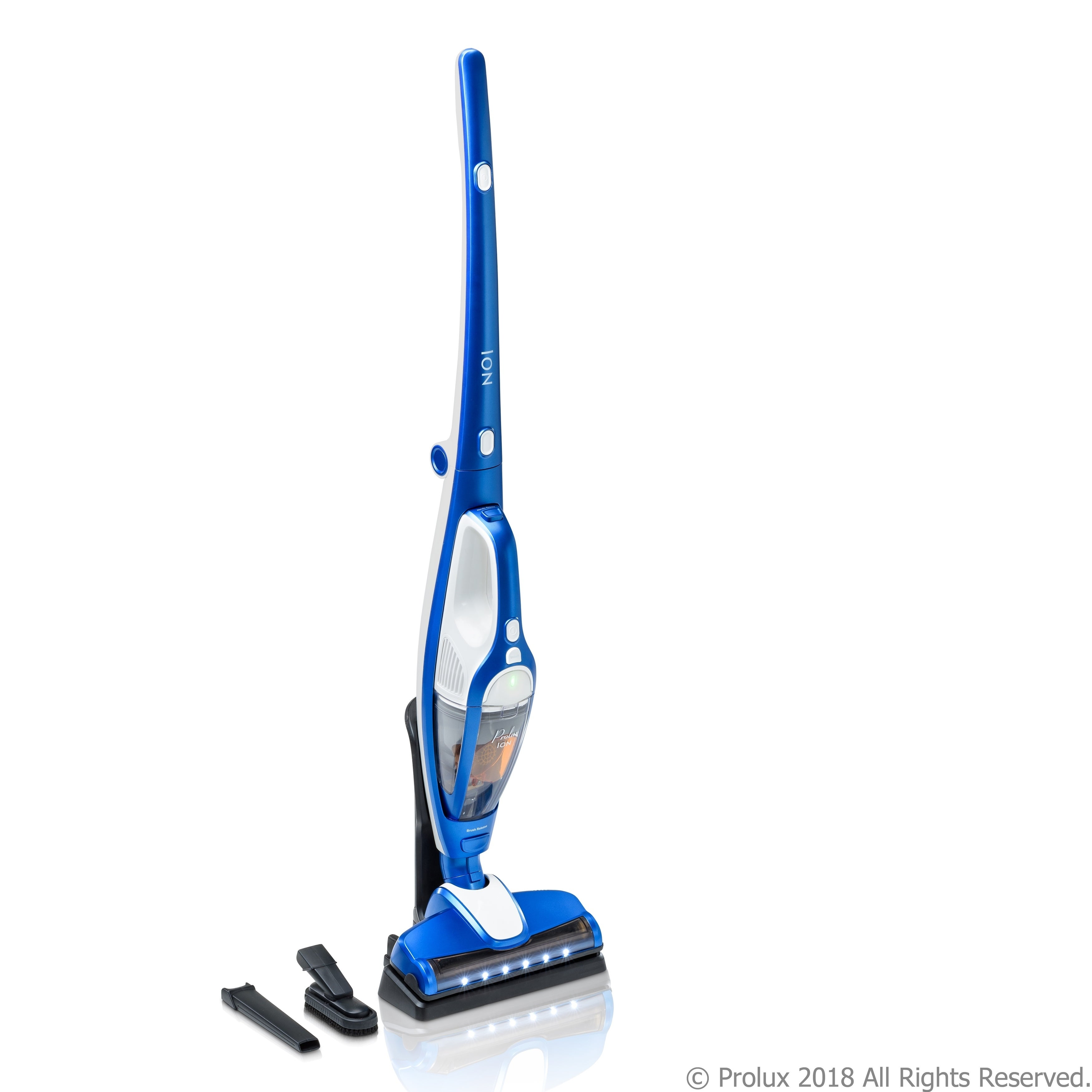 PROLUX Ion Battery Powered Bagless Combo Stick & Handheld...