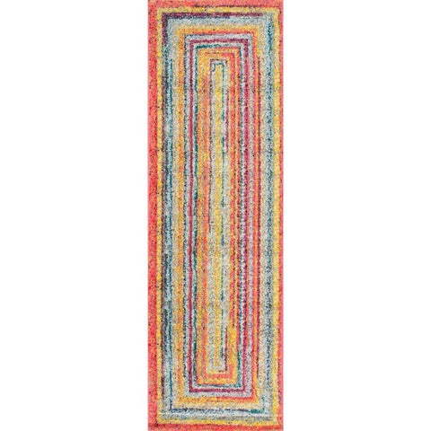nuLOOM Contemporary Endless Doorways Kids Area Rug