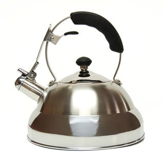 Creative Home Saturn 2.8 Qt Whistling Stainless Steel Tea Kettle