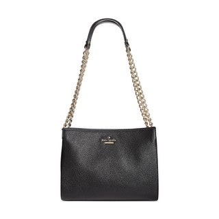 Kate Spade New York Emerson Place Phoebe Black Leather Shoulder Bag
