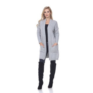 White Mark Women's Yule Cardigan