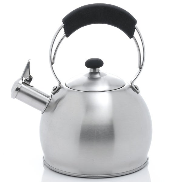Creative Home Galaxy 2.6 Qt Whistling Stainless Steel Tea Kettle