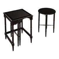 Melbourne Black Nesting Tables (Set of 3)
