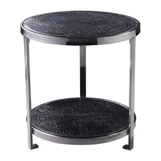 Black Croc Coffee Table