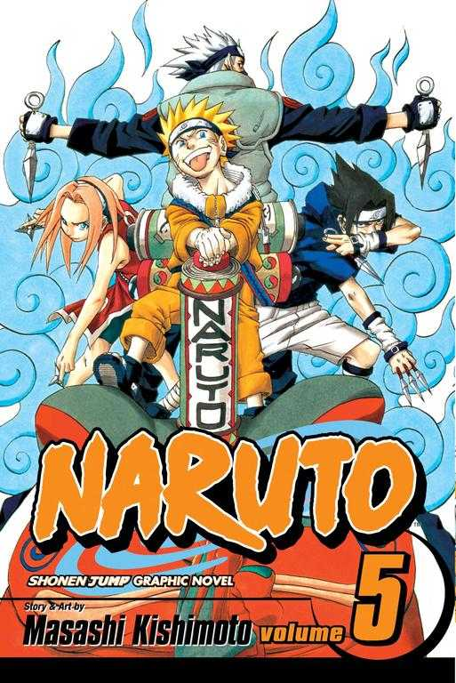 Naruto 5: Challengers (Paperback)