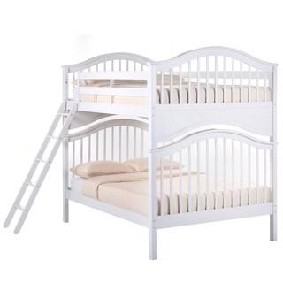 School House Full Over Full Jordan Bunk Bed White