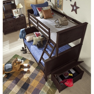 Canberra Twin Over Full Bunk Bed Free Shipping Today