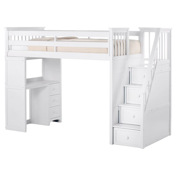 Shop NE Kids School House Stair Loft With Desk End And