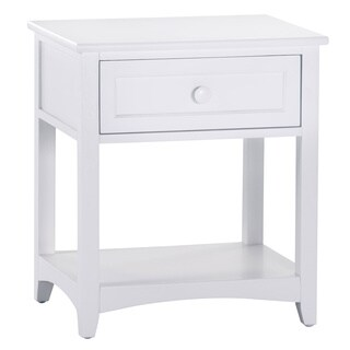 NE Kids School House 1-drawer Nightstand White