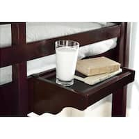 NE Kids School House Hanging Nightstand Chocolate