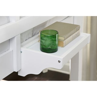 School House Hanging Nightstand White