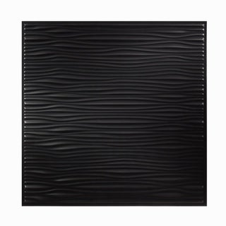 Genesis Drifts Black 2 x 2 ft. Lay-in Ceiling Tile (Pack of 12)