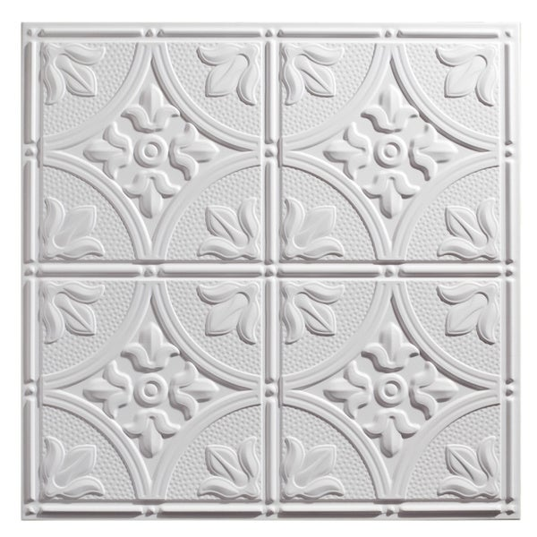 Amazing 1 Inch Ceramic Tiles Thin 12 Inch By 12 Inch Ceiling Tiles Solid 12 X 12 Ceiling Tiles 12X24 Slate Tile Flooring Old 3D Ceramic Wall Tiles Soft3X3 Ceramic Tile Genesis Antique White 2 X 2 Ft. Lay In Ceiling Tile (Pack Of 12 ..