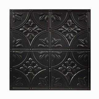 Genesis Antique Black 2 x 2 ft. Lay-in Ceiling Tile (Pack of 12)