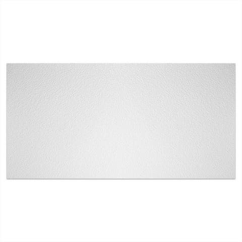 Genesis Stucco Pro White 2 x 4 ft. Lay-in Ceiling Tile (Pack of 10)