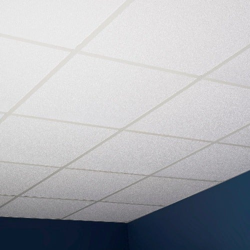 Shop Genesis Stucco Pro White 2 X 2 Ft Lay In Ceiling