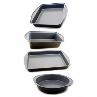 Earthchef 4-piece Square Bake Set