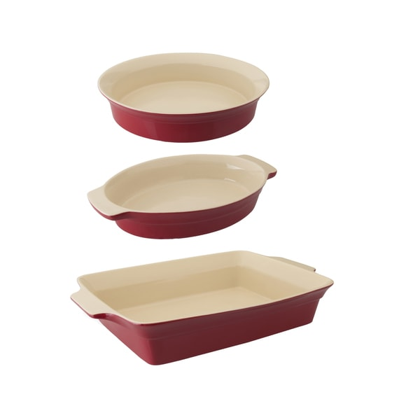 Geminis 3-piece Basic Bakeware Set