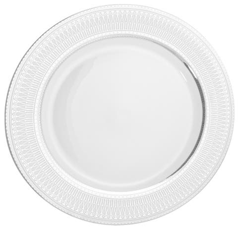 10 Strawberry Street Iriana Silver Bread & Butter Plate Set of 6