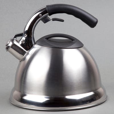Creative Home Avalon 3.0-quart Whistling Stainless Steel Tea Kettle