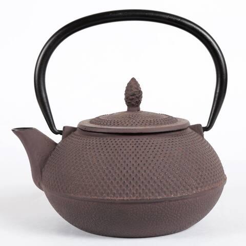 Creative Home Kyusu Brown Cast Iron 30 oz. Tea Pot
