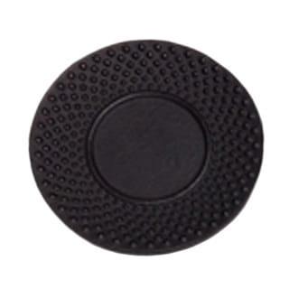 Creative Home 3.75-inch Diameter Cast Iron Round Black Trivet