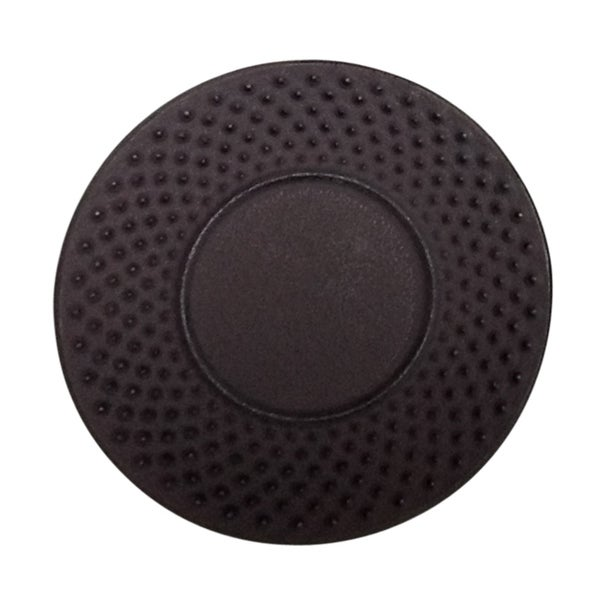 """Creative Home Brown Cast Iron 3.75"""" Round Trivet, Coaster. Opens flyout."""
