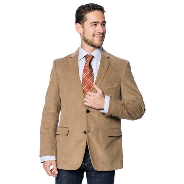 USPA Ram Men's Tan Cord Blazer - Free Shipping On Orders Over $45 ...