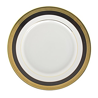 Sahara Black Bread and Butter Plate (Set of 6)